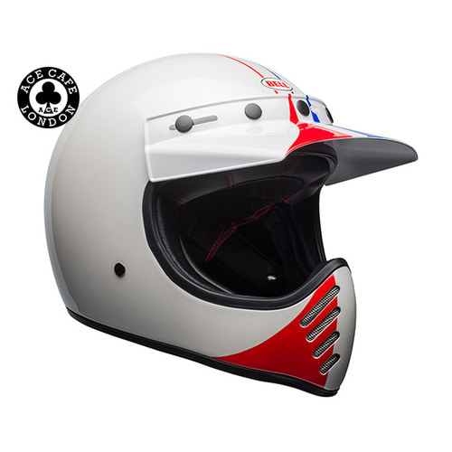 MOTO-3 ACE CAFE GP 66 WHITE/RED