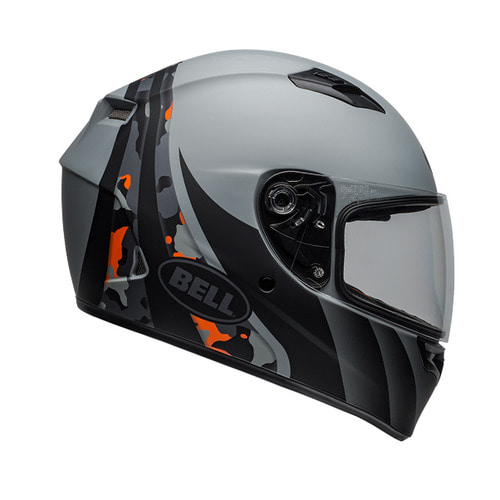 QUALIFIER INTEGRITY MATTE GREY/ORANGE CAMO