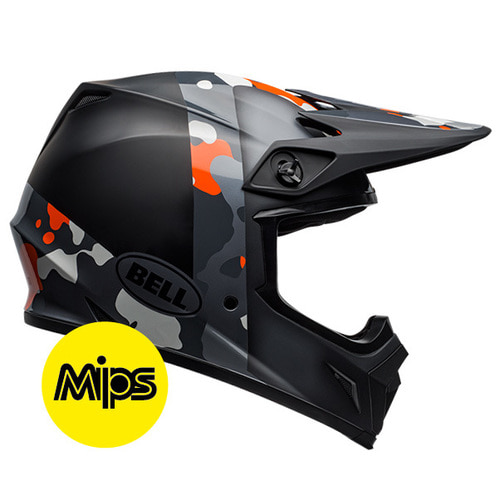 MX-9 PRESENCE BLACK FLO ORANGE CAMO MIPS