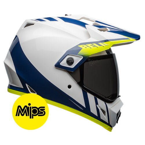 MX-9 ADV DASH WHITE/BLUE/HI-VIS MIPS